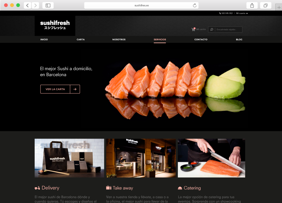 Sushifresh eCommerce
